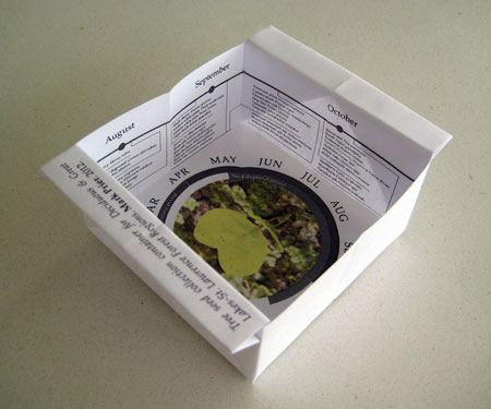 Image of 'Tree seed collection container for Deciduous & Great Lakes-St. Lawrence Forest Regions', 2012